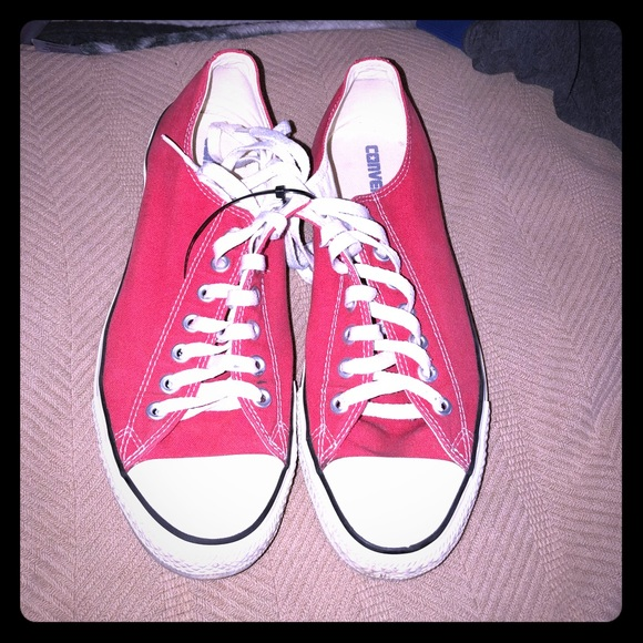 d56b18a5aa2827 Converse Other - Gently used Chuck Taylors - red - size 10.5 men